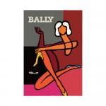Bally Woman Diptyque Print Poster Villemot