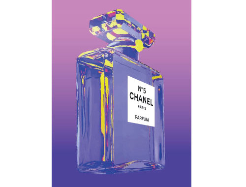 Purple Chanel Purple Chanel Perfume Bottle