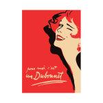 Dubonnet French Advertisement Vintage Print Poster Canvas