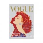 Vogue 1984 Andy Warhol Caroline De Monaco