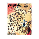 Vogue Leopard Print Cover