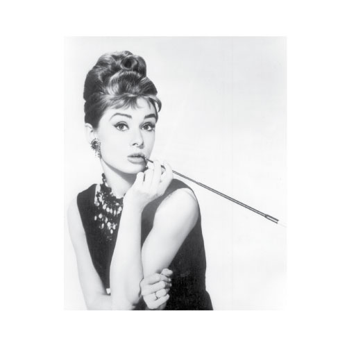 Audrey Hepburn Breakfast at Tiffany\'s Art Print, Poster or Canvas ...
