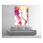 Vogue Chloe WaterColour Art Print Poster Canvas