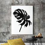 Monstera Deliciosa Art Print Palm Leaf