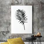 Cocos Nucifera Coconut Palm Leaf art print