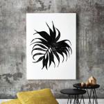 Monstera Deliciosa Palm Leaf Art Print The Block