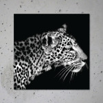 buy leopard canvas print poster animal