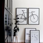 bicycle art print poster bike art print poster masculine wall art