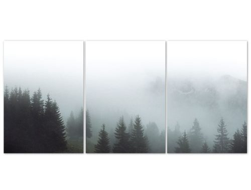 Forest scandi posters set of 3