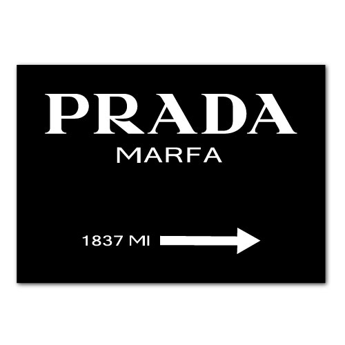 prada marfa poster en11 regardsdefemmes. Black Bedroom Furniture Sets. Home Design Ideas